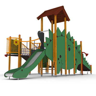dinosaur themed multiplay unit